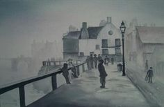 PIER ROAD WHITBY, C1 Old Whitby, Caroline McClung, SAA Professional Members' Galleries
