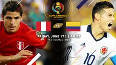 Copa America Centenario Quarterfinal Match Recap | Peru 0 (2), Colombia 0 (4)  | (June 17th, 2016 @ MetLife Stadium in East Rutherford, New Jersey) | After the teams converted the first four penalties in the shootout, Colombian goalkeeper David Ospina saved Miguel Trauco's attempt, which was then followed by Cristian Cueva's attempt going over the bar, which clinched the result for Los Cafeteros. The game was by turns chippy, calculated and wide open, but on the level an even affair. Copa America Centenario, East Rutherford, Metlife Stadium, Goalkeeper, New Jersey, Peru, Captain America, Affair, June