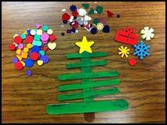 10 of my favourite Christmas Tree Crafts for Kids! Scrap Ribbon Tree Ornament (Fireflies and Mudpies) – a delightful ornament made from scraps of ribbon and twigs! Kids Crafts, Christmas Crafts For Kids To Make, Christmas Tree Crafts, Preschool Christmas, Toddler Christmas, Christmas Activities, Craft Stick Crafts, Toddler Crafts, Simple Christmas