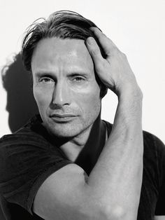 I wish he was a real life person, you know, without the eating people factor. He and I would be great friends! #Mads Mikkelsen #Hannible