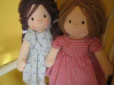 Waldorf Puppe Waldorf inspiriert Steiner Puppe organische von bemka