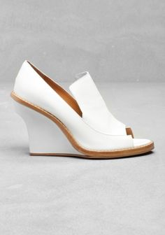 & Other Stories wedge shoes