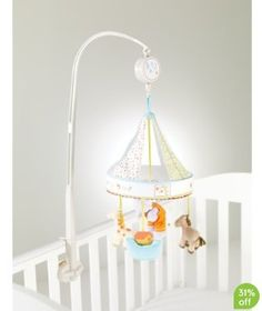Humphrey's Corner Mobile #nursery #toy