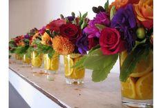 Decorazioni floreali originali per matrimonio