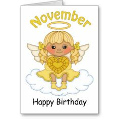 November Birthstone Angel Blonde Birthday Card  http://www.zazzle.com/november_birthstone_angel_blonde_birthday_card-137193490417417854?rf=238631258595245556