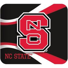 NC State Wolfpack Black Mouse Pad