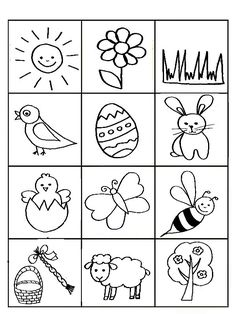 Drawing Lessons For Kids, Easy Drawings For Kids, Art For Kids, Easter Activities For Kids, Preschool Crafts, Diy And Crafts, Crafts For Kids, Hobby Horse, Toddler Learning