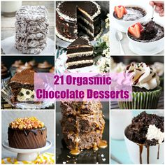 21 Orgasmic Chocolate Desserts You Must Try Now!