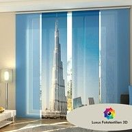 fl chenvorhang set sonnenaufgang in new york amerika usa manhattan skyline 250x120cm. Black Bedroom Furniture Sets. Home Design Ideas