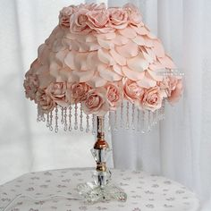 Pretty little pink lampshade