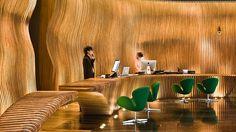 Shanghai Indigo Room | Lobby of the hip, 184-room Hotel Indigo, Shanghai. Picture: Jason ...