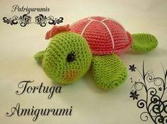 Hoy os traigo un patrón de esta tortuga tan bonita, es de nivel principiante, muy bien explicado paso a paso, para que no tengáis probl...
