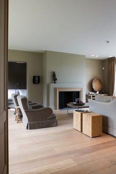 Modern wonen interieur met luxe meubels