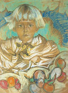 Stanisław Ignacy Witkiewicz (1885 - 1939, Polska) - PORTRET TOMASZA DOMANIEWSKIEGO, X 1924