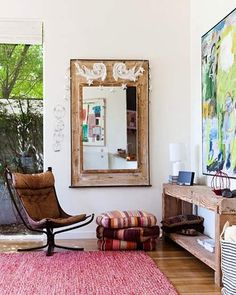 ambientes en casa urbana y simple