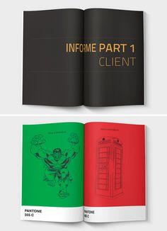50 best brochures magazines en boekjes images editorial design