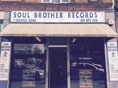 London- Soul Brother Records- East Putney