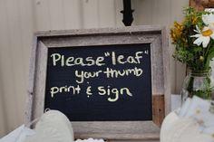 finger print tree sign
