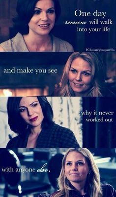 Sweet Swan Queen / Regina Mills / Emma Swan / Love / Once upon a Time