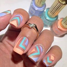 Design Nail Art Looks So Pretty 2018 #nailart