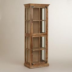 One of my favorite discoveries at WorldMarket.com: Curio Cabinet