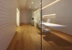 Chair by Arper - Adriatica Real Estate Agency  Venice, Italy  Architect: JM Architecture  Photo: Jacopo Mascheroni