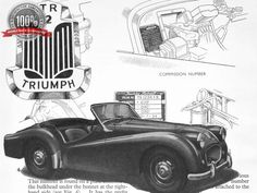 Rare Dealer Manual - Triumph TR2 TR3.  Think I have this in my loft.  Rather stupidly sold the car though!
