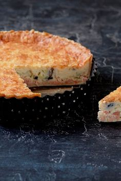 A classic quiche recipe, this smoked salmon and leek quiche from chef Steven Doherty is easy to make and perfect for a picnic or summer lunch.