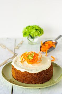 karottenkuchen rüblikuchen möhrenkuchen frischkäse frosting trickytine