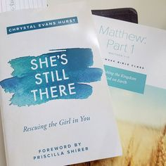 Excited to be starting these 2 today.  Matthew with The Village Church Plano and She's Still There with @p31obs.  #biblestudy #shereadstruth #womenoftheword #ShesStillThere #proverbs31