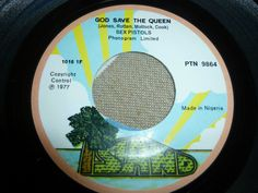 """SEX PISTOLS 7"""" GOD SAVE THE..../DID YOU NO WRONG NIGERIAN 45 RPM!!   eBay"""