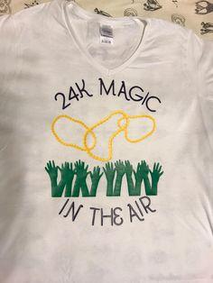 Mardi Gras 24K Magic Inspired T-Shirt by RuthandAnn on Etsy