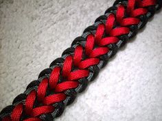 Rawk's Knotorials: Knotorial 06 - The Embraced Arrows (Bracelet)