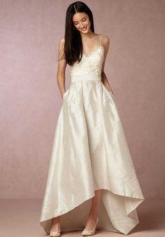 BHLDN Bellamy Skirt & Havana Corset Wedding Dress photo