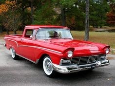 1957 Ford Ranchero..Re-pin..Brought to you by #agentsofInsurance at #HouseofInsurance in #EugeneOregon 97401, 97402, 97403, 97404, 97405