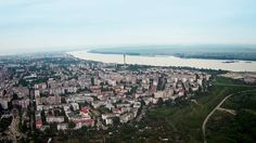 Galati from the air - Spring 2015