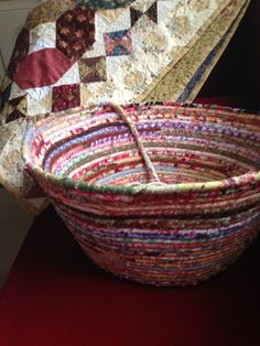 """""""End of Day"""" Quilters Basket - Free Tutorial"""