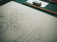 Back to skulls • new project on the way