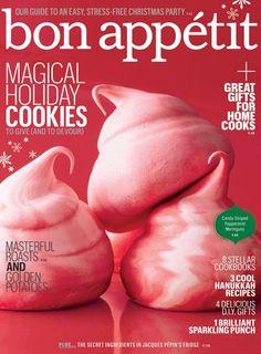 bon appetit magazine meringue cookies