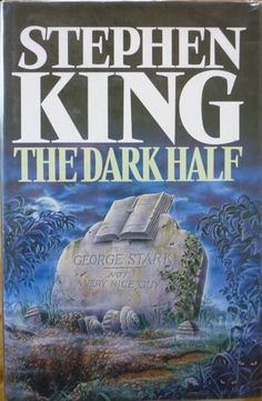 The Dark Half - Stephen King for sale on Trade Me, New Zealand's auction and classifieds website I Love Books, Good Books, Books To Read, Book Writer, Book Authors, Stephen King Novels, Steven King, Horror Books, Book Worms