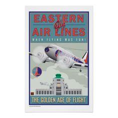 Eastern Air-Poster