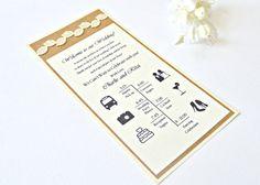 Fall wedding Program rustic wedding by JasmineWeddingPrints