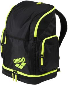 New! Arena Spiky 2 Large Backpack in Yellow (SKU: 1e00453) - from Allens of Kingsbury