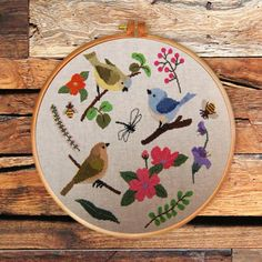 25 Fresh Cross Stitch Patterns for Spring