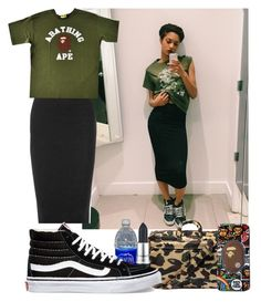 """#540"" by babygyal09 ❤ liked on Polyvore featuring A BATHING APE, James Perse, M.A.C, Vans, women's clothing, women, female, woman, misses and juniors"