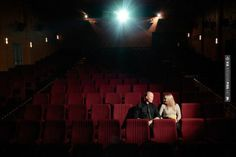 So good - Vintage Theatre engagement     hilary cam photography   CHECK OUT MORE GREAT RED WEDDING IDEAS AT WEDDINGPINS.NET   #weddings #wedding #red #redwedding #thecolorred #events #forweddings #ilovered #purple #fire #bright #hot #love #romance #valentines
