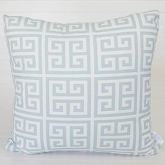 45 x 45cm  The 'Newport Beach' pattern is printed on 100% medium-weight cotton fabric and is a wonderfully complimentary cushion for any decor as it will blend with most colour schemes.    Sold as a cover only and fits a 51cm insert.