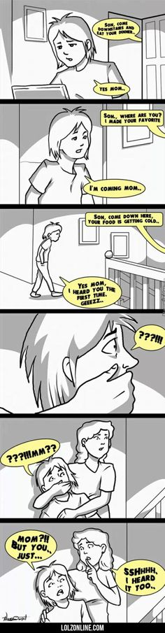 Son,. Come Downstairs And Eat Your Dinner#funny #lol #lolzonline