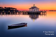 Roanoke Marshes Lighthouse in Manteo, North Carolina // #iloveobx