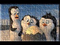 Madagascar Puzzle Games For Kids YouTube Madagascar Penguins